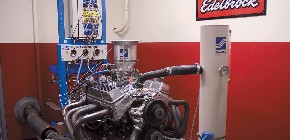 IOP works with Edelbrock